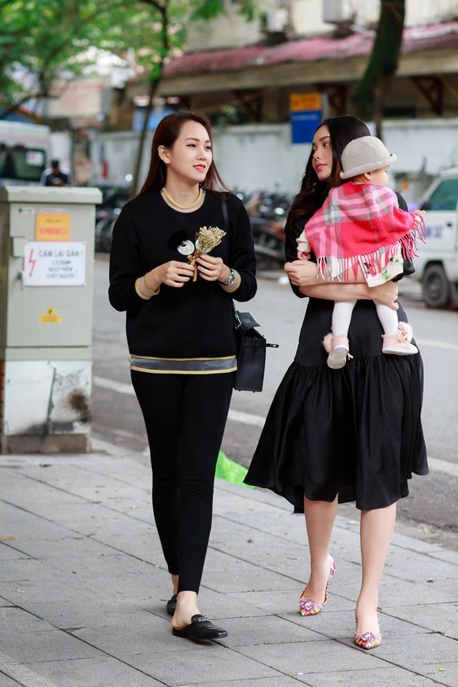 Phan Như Thảo đưa con gái ra Bắc hưởng cái lạnh bên bạn thân Ngọc Thạch - 5
