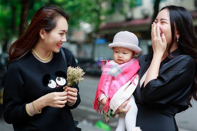Phan Như Thảo đưa con gái ra Bắc hưởng cái lạnh bên bạn thân Ngọc Thạch - 7