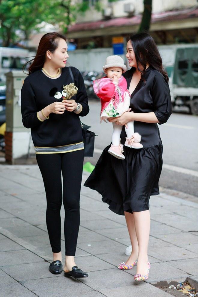 Phan Như Thảo đưa con gái ra Bắc hưởng cái lạnh bên bạn thân Ngọc Thạch - 6