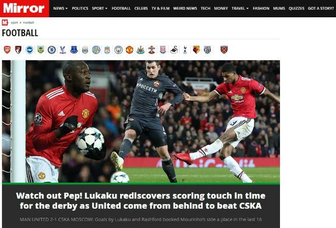 Báo chí Anh: Sợ Chelsea đụng Barca, MU rực rỡ 40 trận bất bại 2