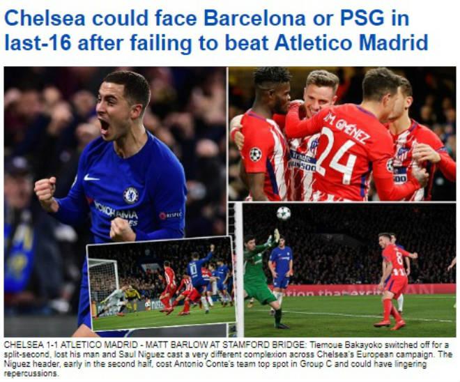 Báo chí Anh: Sợ Chelsea đụng Barca, MU rực rỡ 40 trận bất bại 3