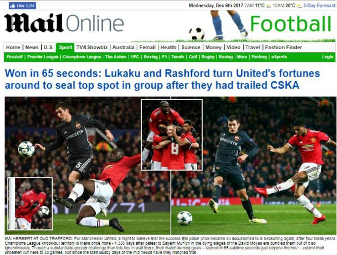 Báo chí Anh: Sợ Chelsea đụng Barca, MU rực rỡ 40 trận bất bại 1