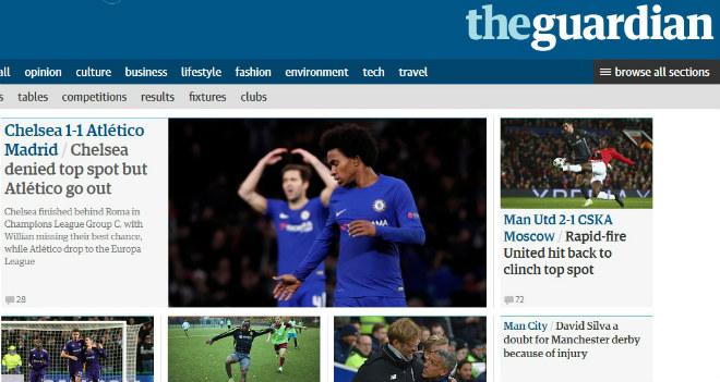 Báo chí Anh: Sợ Chelsea đụng Barca, MU rực rỡ 40 trận bất bại 4