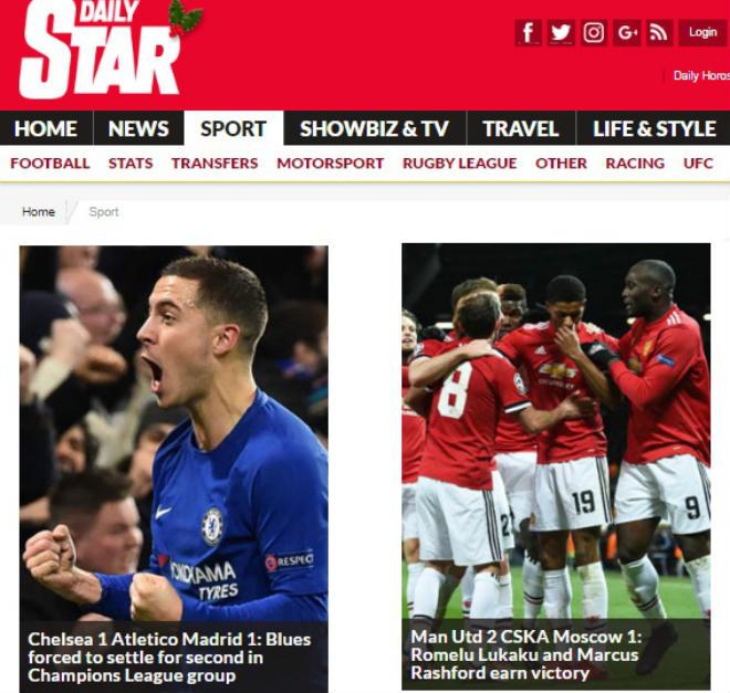 Báo chí Anh: Sợ Chelsea đụng Barca, MU rực rỡ 40 trận bất bại 6