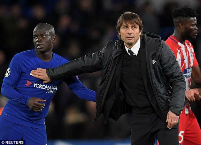 Chelsea hòa may mắn: Conte vẫn cao ngạo dọa dẫm Barca, PSG 2
