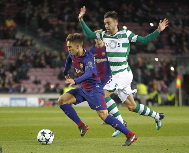 """Barcelona - Sporting Lisbon: Messi """"giấu mặt"""", đòn phản lưới người cũ"""