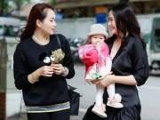 Đời sống Showbiz - Phan Như Thảo đưa con gái ra Bắc hưởng cái lạnh bên bạn thân Ngọc Thạch