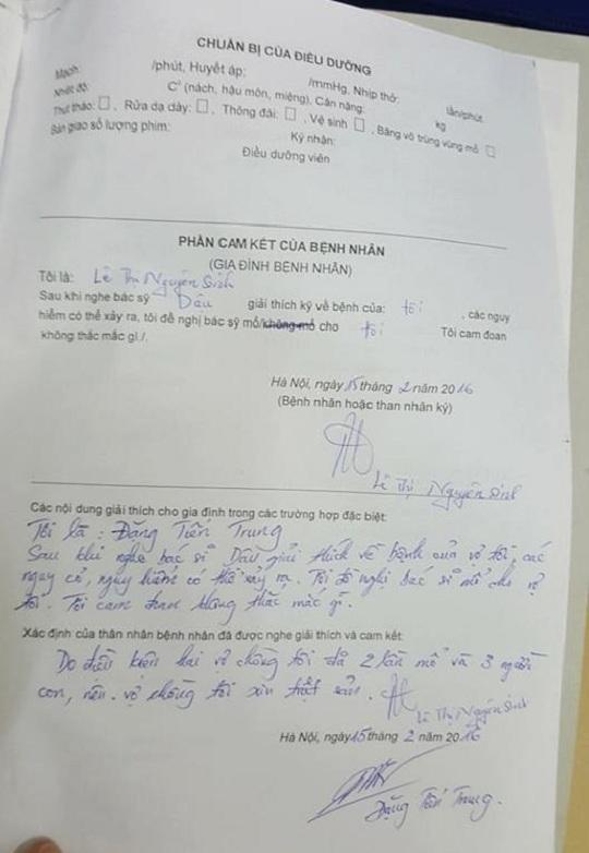 Làm rõ vụ bác sĩ BV Bạch Mai đã triệt sản nhưng bệnh nhân vẫn có thai - 1
