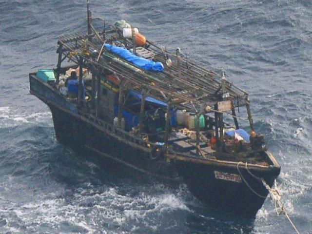 """Nhật Bản bắt ngư dân """"tàu ma"""" Triều Tiên vì phạm luật - 2"""