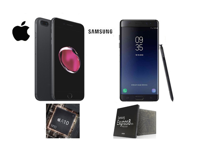 Galaxy Note FE vs iPhone 7: Đối đầu không khoan nhượng - 6