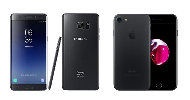 Galaxy Note FE vs iPhone 7: Đối đầu không khoan nhượng - 1