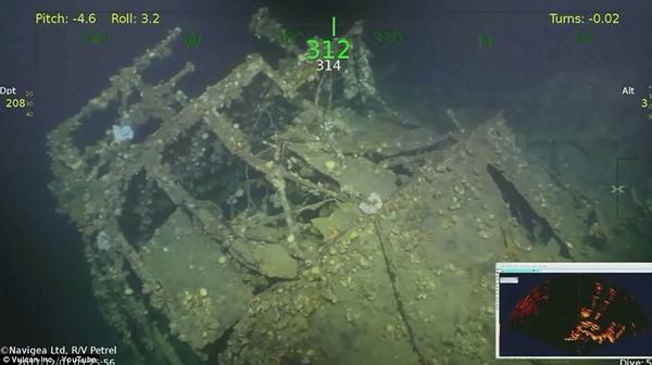 Tìm thấy tàu chiến Mỹ nã phát pháo đầu tiên trong Thế chiến 2