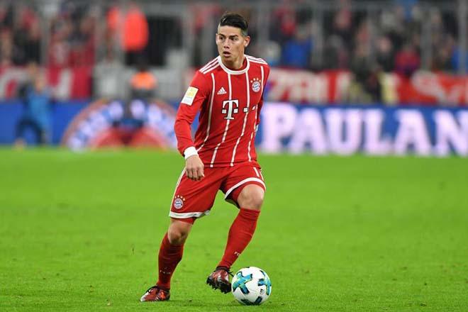 """Chuyển nhượng MU: Mourinho tính """"hốt"""" James Rodriguez, Shaw ổn định tương lai 1"""