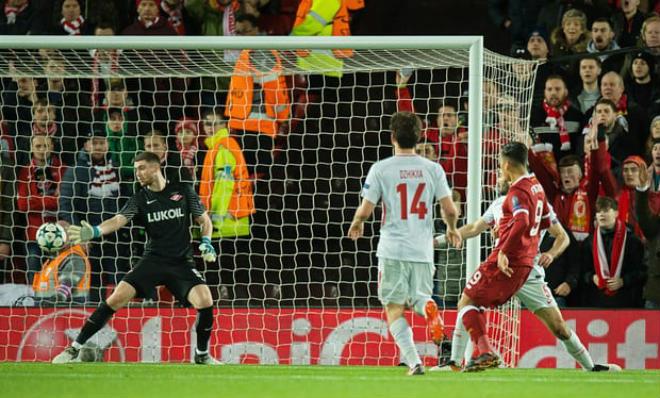 Liverpool – Spartak Moscow: Tra tấn kinh hoàng, hủy diệt 7 bàn