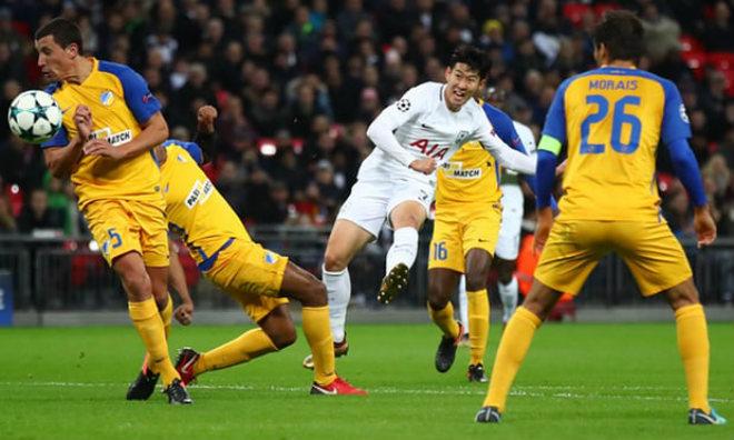 "Tottenham – APOEL Nicosia: ""Cú đấm"" kết liễu phút 80 1"