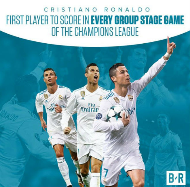 Ronaldo ghi siêu phẩm cúp C1: Chạm 2 kỉ lục, chờ ẵm Bóng vàng - 1