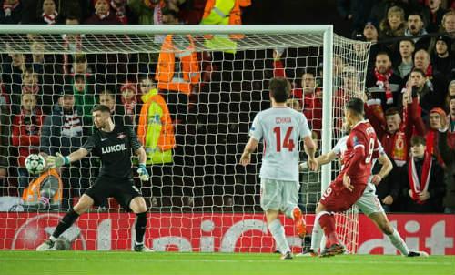 Chi tiết Liverpool - Spartak Moscow: Bàn thắng thứ 7 (KT) 21