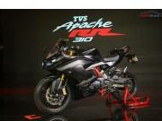 Thế giới xe - TVS Apache RR 310 trình làng, giá 72 triệu đồng