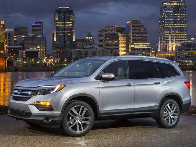 SUV 7 chỗ Honda Pilot 2018 có giá từ 725 triệu đồng