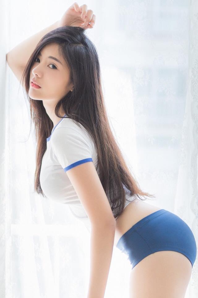 Hot girl Thái Lan gây sốt với thân hình chữ S siêu gợi cảm - 2