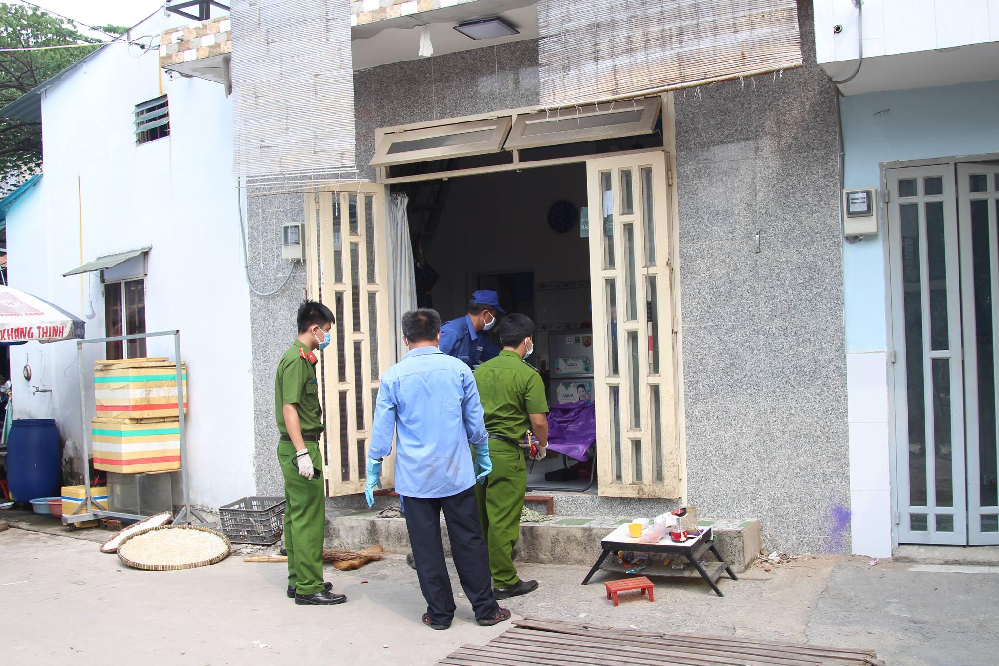 Người đàn ông chết bí ẩn trong căn nhà ở Sài Gòn