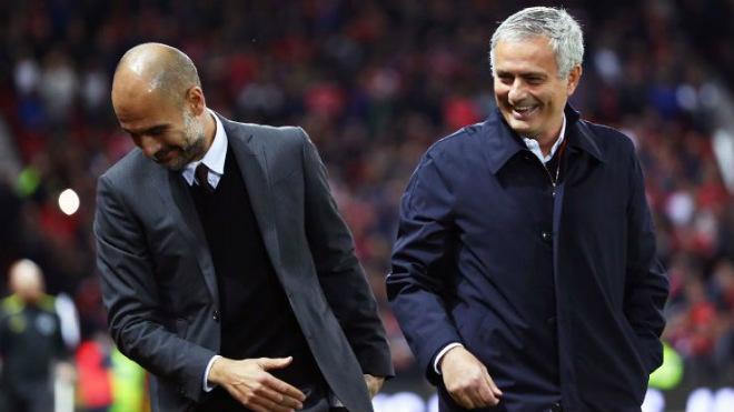 """MU – Man City đại chiến 650 triệu bảng: Pep """"súng 4 nòng"""", Mourinho đánh phủ đầu 1"""