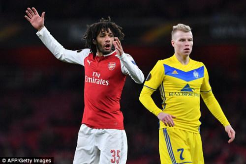 Chi tiết Arsenal - BATE Borisov: Giroud hụt cú đúp, Emirates vẫn tưng bừng (KT) 20