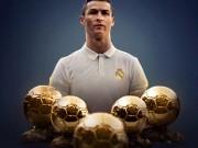 Bóng đá - Ronaldo đoạt Bóng Vàng, 2 ngày 2 kỉ lục: Lời thách thức gửi tới Messi