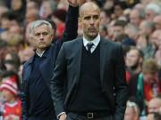 """Bóng đá - MU – Man City đại chiến 650 triệu bảng: Pep """"súng 4 nòng"""", Mourinho đánh phủ đầu"""