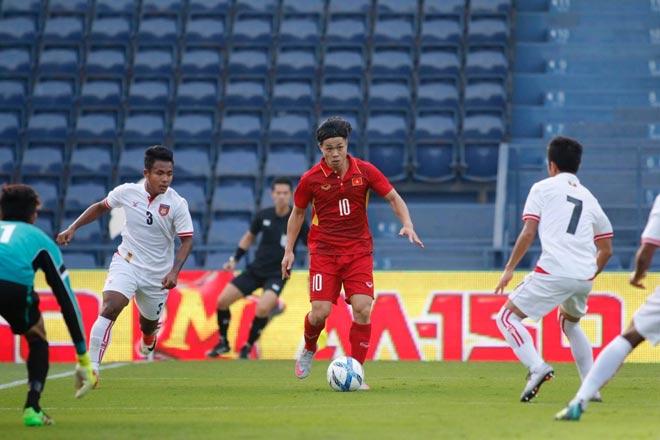 """Công Phượng rực rỡ 1 bàn 2 kiến tạo: """"Nhảy múa"""" cùng U23 Việt Nam"""