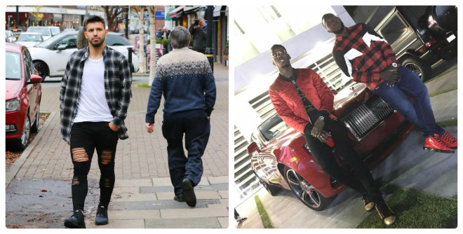 SAO MU, Man City đọ gu thời trang: Soái ca De Gea, chất chơi Lukaku, Aguero 1