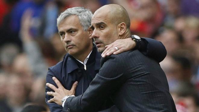 """MU đấu Man City: Chuyện """"anh em sinh đôi"""" Pep - Mourinho 1"""