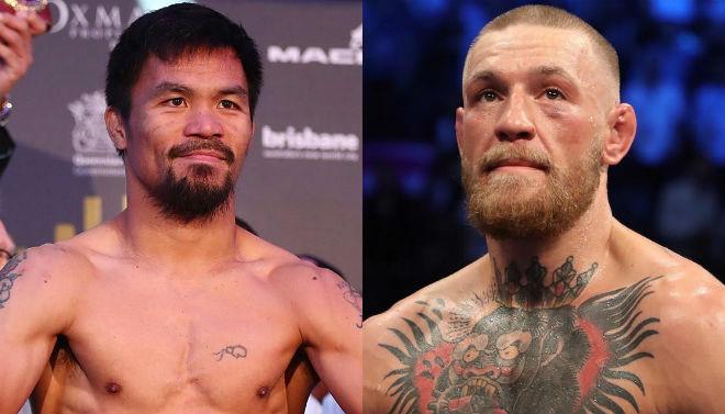 """Nóng boxing tỷ đô: Đại tá Pacquiao chiến """"Gã điên"""" McGregor 1"""