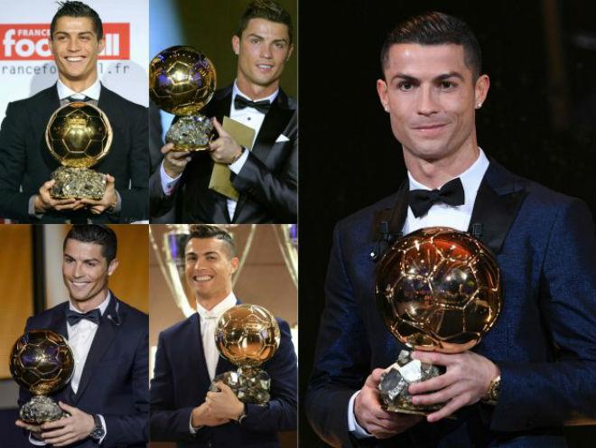 Ronaldo 5 bóng Vàng, tuyên bố vô đối: Tự kiêu hay sự thật hiển nhiên