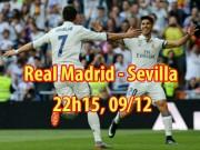 Bóng đá - Real Madrid - Sevilla: Ronaldo mừng Bóng vàng, bay bổng với Real