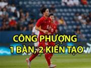"""Bóng đá - Công Phượng rực rỡ 1 bàn 2 kiến tạo: """"Nhảy múa"""" cùng U23 Việt Nam"""