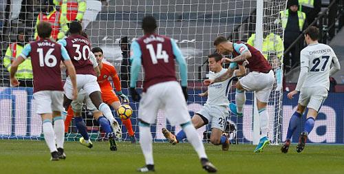 Chi tiết West Ham - Chelsea: Canh bạc tấn công bất thành (KT) 19