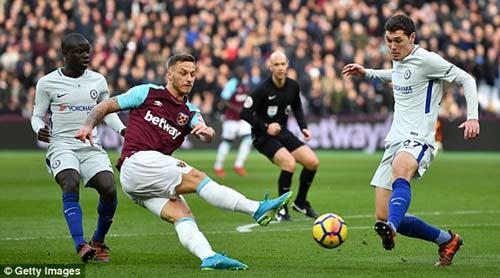 Chi tiết West Ham - Chelsea: Canh bạc tấn công bất thành (KT) 22