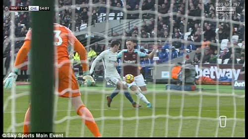 Chi tiết West Ham - Chelsea: Canh bạc tấn công bất thành (KT) 23