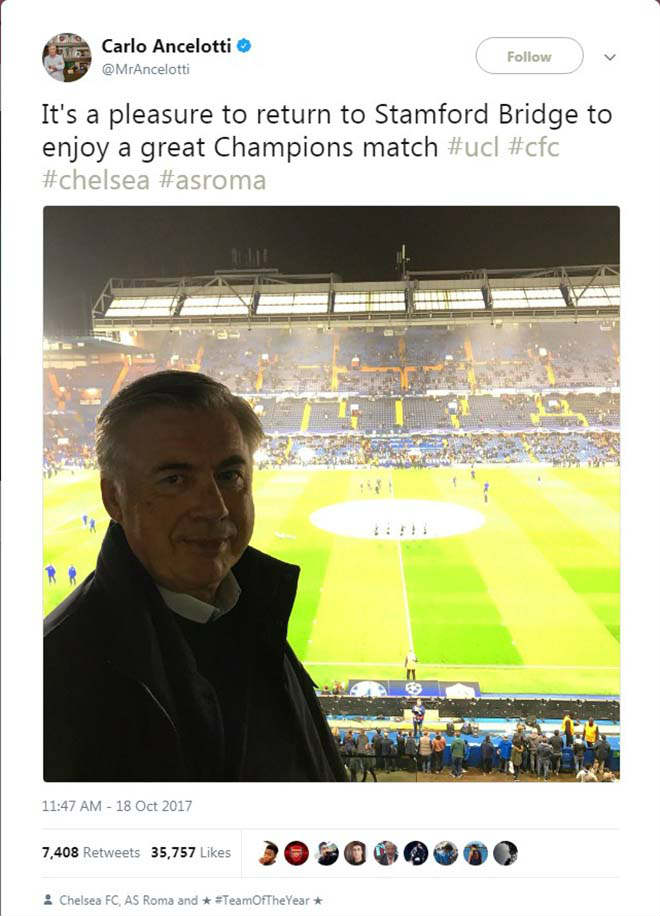 "Chelsea hết cửa Ngoại hạng Anh: Abramovich sắp ""trảm"" Conte, mời Ancelotti 3"