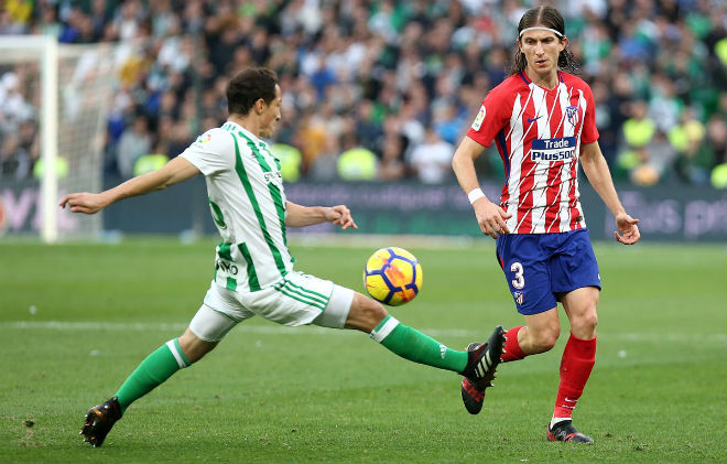 Betis vs Atletico Madrid: vòng 15 La Liga