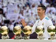 Nghịch lý: Ronaldo 5 Quả bóng Vàng vẫn không vĩ đại nhất Real