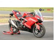 Thế giới xe - TVS Apache RR 310: Chiếc sportbike đa chức năng