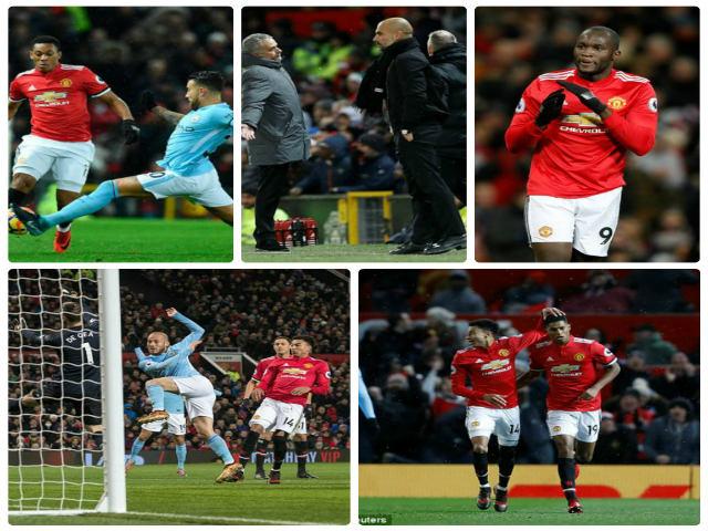 """MU thua derby: Mourinho xỉa xói trọng tài, """"đầu hàng"""" Man City 2"""
