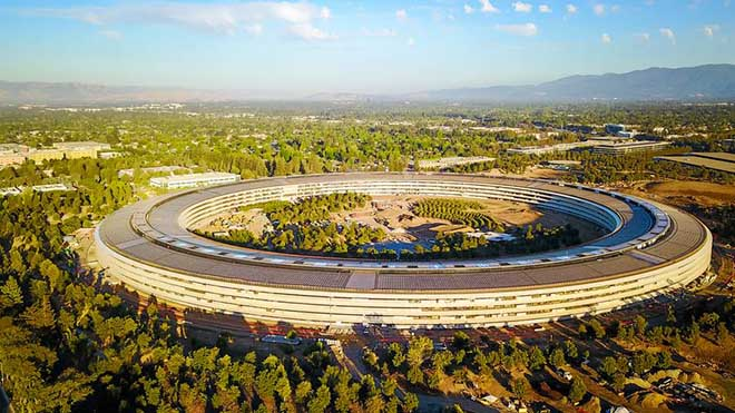 """Vì sao trụ sở """"phi thuyền"""" của Apple bị đội chi phí lên đến 5 tỉ USD?"""