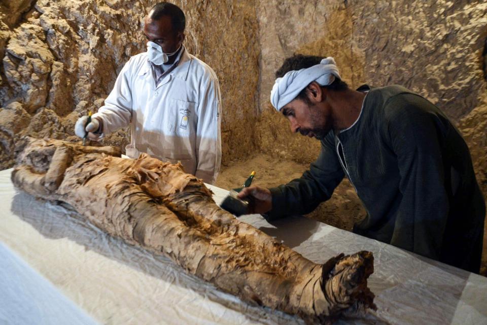 """Phát hiện xác ướp Ai Cập 3.500 năm """"gần như hoàn hảo"""""""