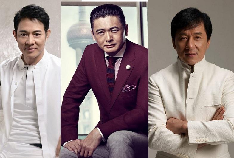 10 sao nam quyền lực trong nhiều thập niên của làng giải trí Hoa ngữ