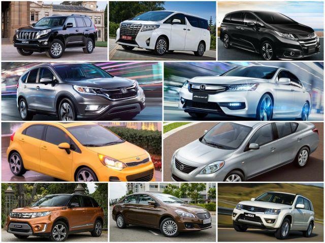 """10 mẫu ô tô """"ế"""" nhất Việt Nam tháng 11/2017"""