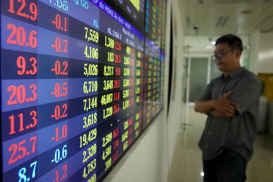 Cổ phiếu ngân hàng, bia rượu lao dốc, VN-Index