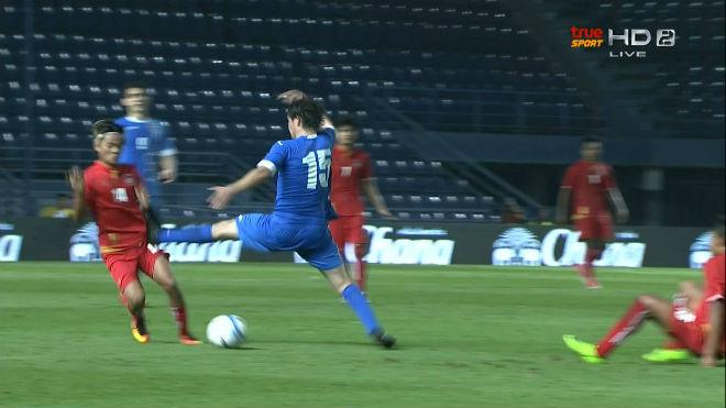 U23 Myanmar - U23 Uzbekistan: Thẻ đỏ và màn rượt đuổi khó tin 1